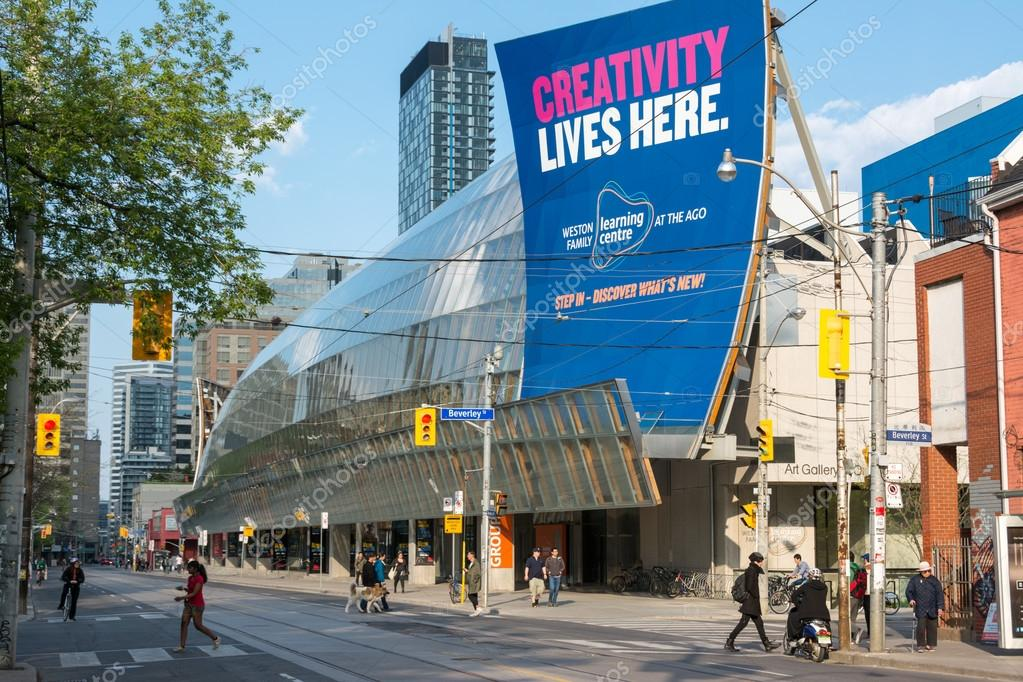The Art Gallery of Ontario in Toronto,Canada