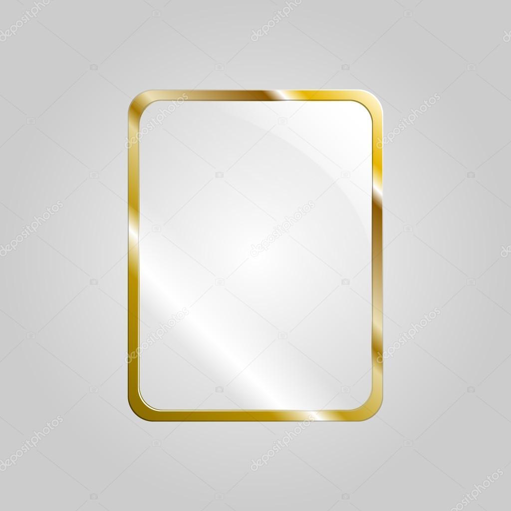 marco de cristal — Vector de stock © chrishall #23607911