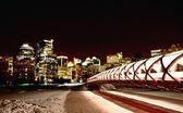 Noční záběry calgary alberta Kanada