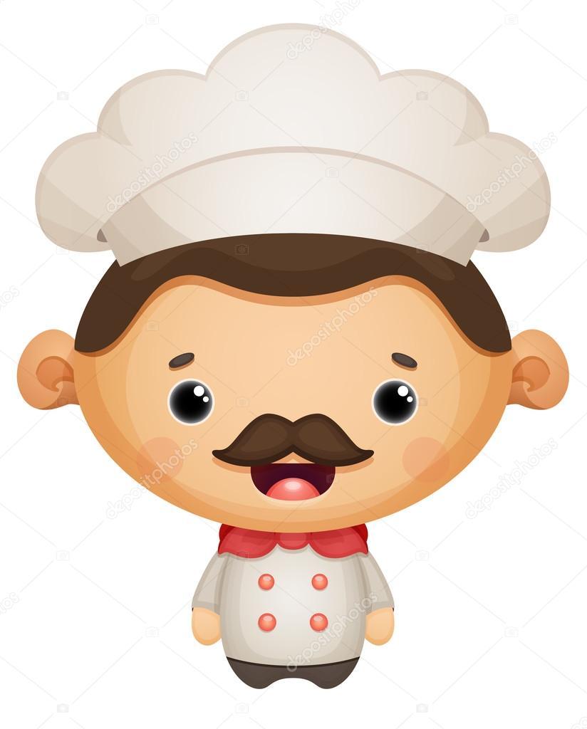 Cocinero de dibujos animados archivo im genes for Herramientas de un cocinero