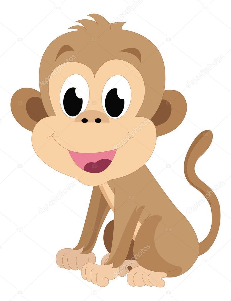 아기 원숭이 일러스트 레이 션 스톡 벡터 169 Morphart 16192121