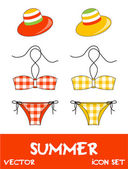 pretty summer icons