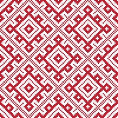 Ethnic slavic seamless pattern6