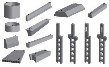 Ferroconcrete items