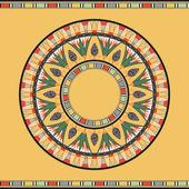 Egyptské národní kolo vzorek