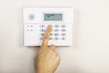 Setting Home Alarm System