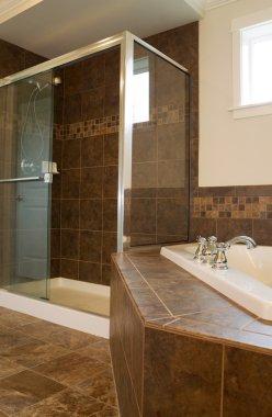 Large Shower in Master Bath Room