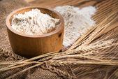 Fotografie Flour from durum wheat