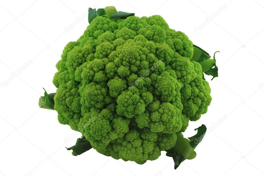 Head Green Cauliflower.
