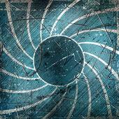 Fotografie Blue grunge stripes background