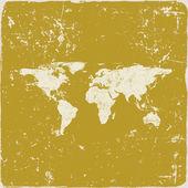 Fotografie Grunge world map background