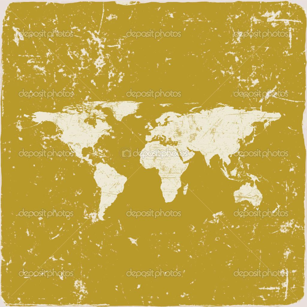 Grunge world map background stock photo nikmerkulov 27985685 grunge world map background stock photo gumiabroncs Choice Image