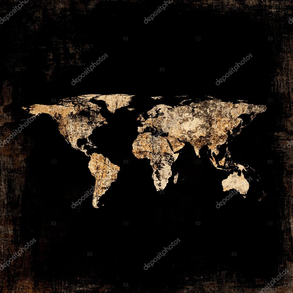 Grunge world map background stock photo nikmerkulov 28211373 grunge world map background stock photo 28211373 gumiabroncs Gallery
