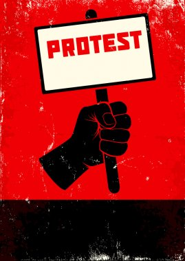 Illustration of protest