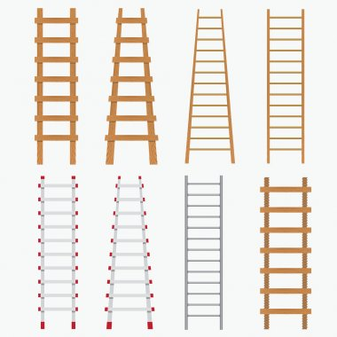 Set of ladders.