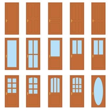 Set of the doors.