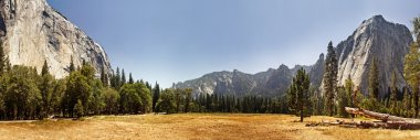 Panoramic view of Yosemite Valley, California
