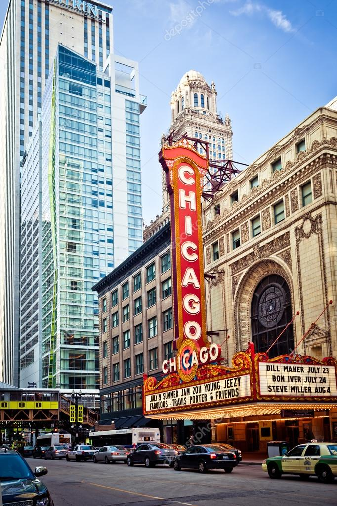 Chicago Theater in Chicago