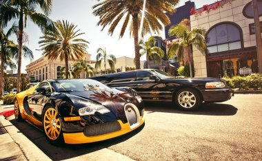 Rodeo Drive during sunny day