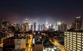 Fotografia vista notturna di manhattan