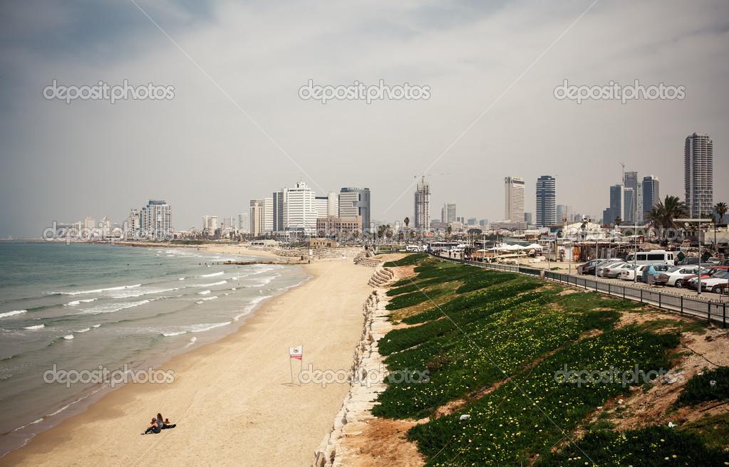Tel-Aviv beach panorama