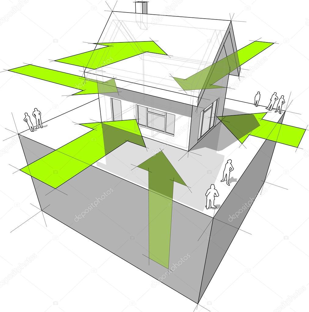 Energie-Aufnahme-Diagramm — Stockvektor © valigursky #27451921