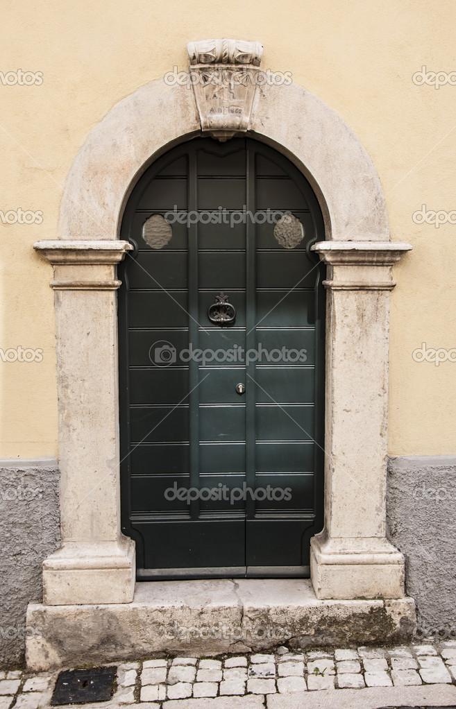 Italian Door U2014 Stock Photo