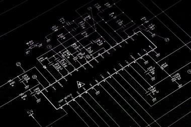 Electrical shematic diagram.