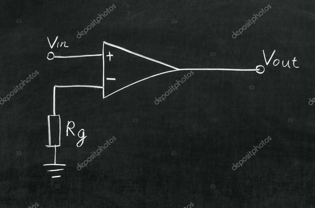 Circuito Operacional : Amplificador operacional u fotografias de stock makaule