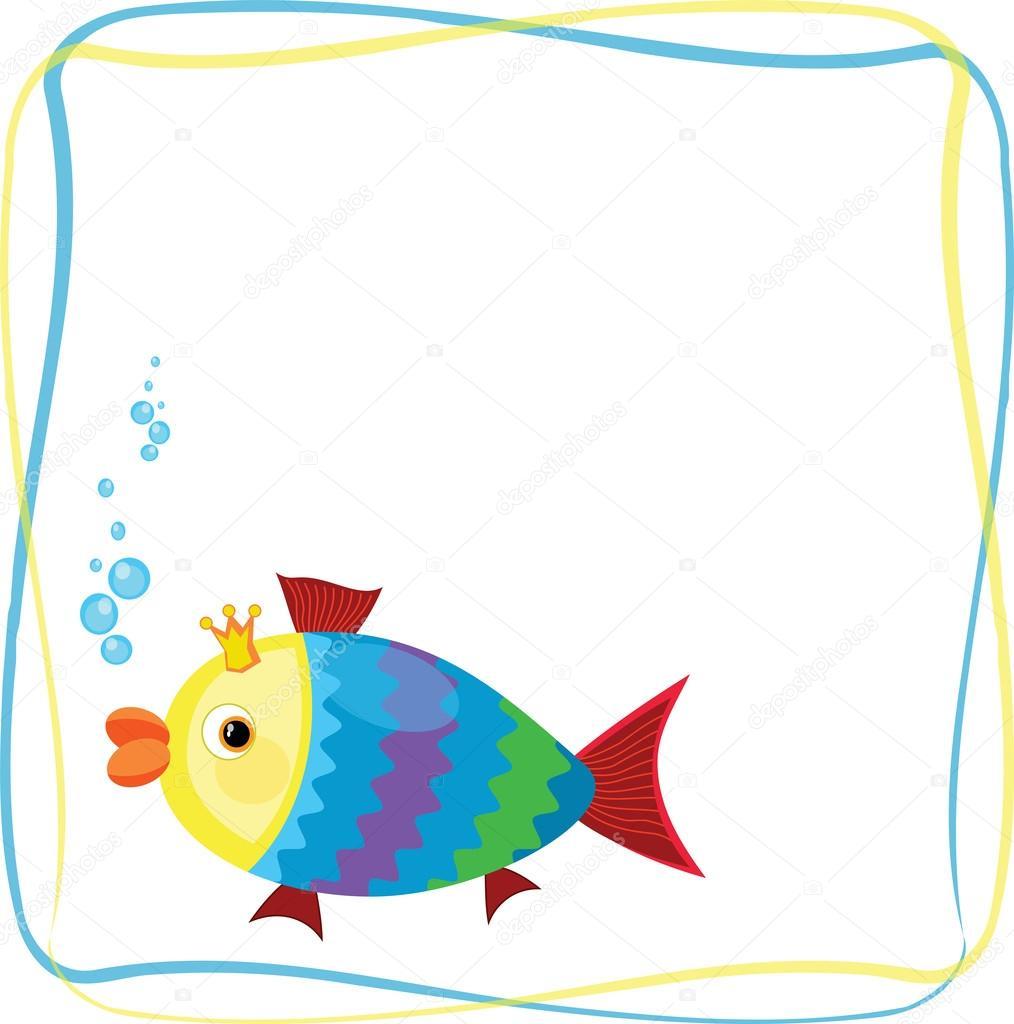 Marco con peces fotos de stock olaj775 38245043 for Fish photo frame