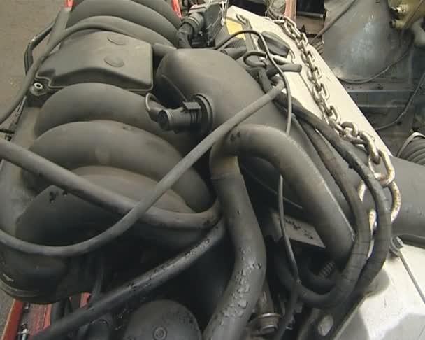 motor odstraněn z počítače. auto výpis.