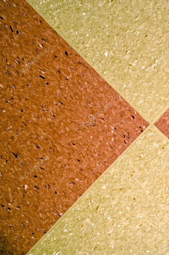 Marmoleum Flooring Fragment Patterns And Textures Stock Photo