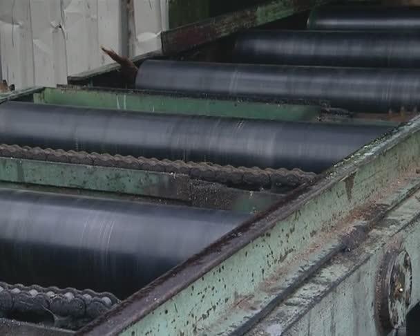 prkna pro přípravu na pile. dřevařský průmysl