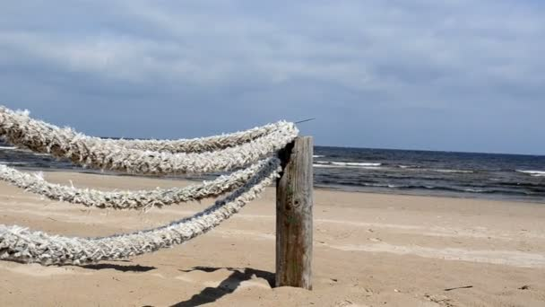 vodítko lano moře pláž