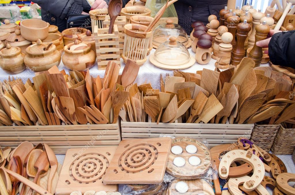 cucina in legno fatti a mano utensili strumenti bazar equo ? foto ... - Strumenti Cucina