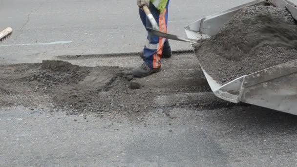 pracovní vozík zatížení asfalt