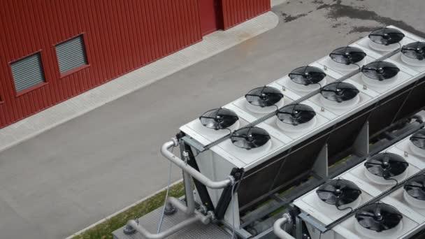 Cooler fan biogas plant
