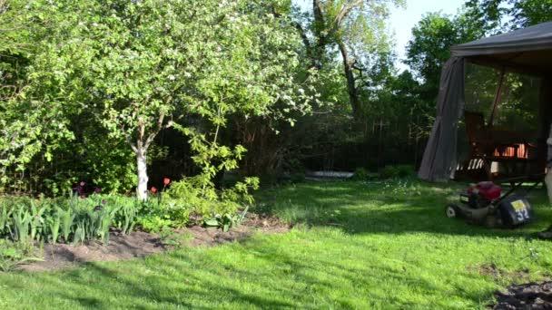 ženy vyřezaným zahradní altánek