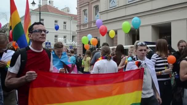 Gay parade preparation