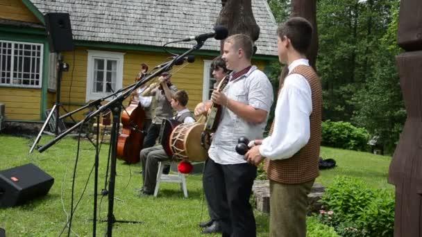 Country kapela hrát hudba