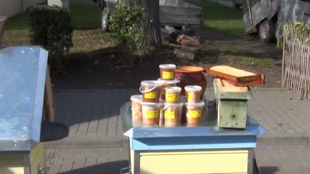 sklizeň trhu včelí úl