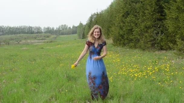 žena kytice Pampeliška