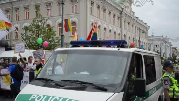 Police safety gay parade