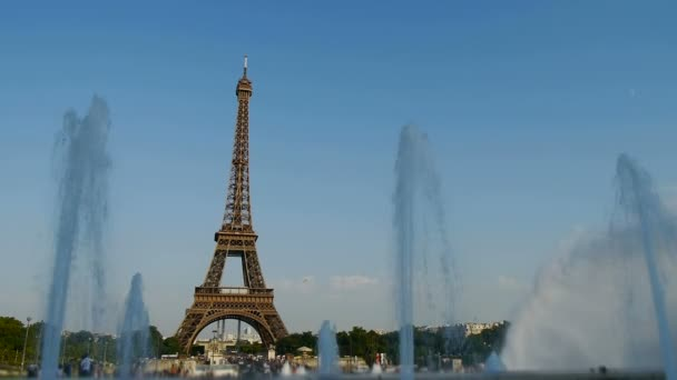 landmark eiffel tower in paris, france
