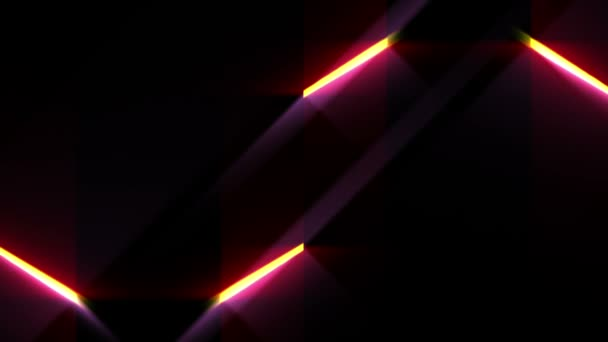 Abstract Lines And Light Futuristic Waves Digital Background Hd 1080p Loop