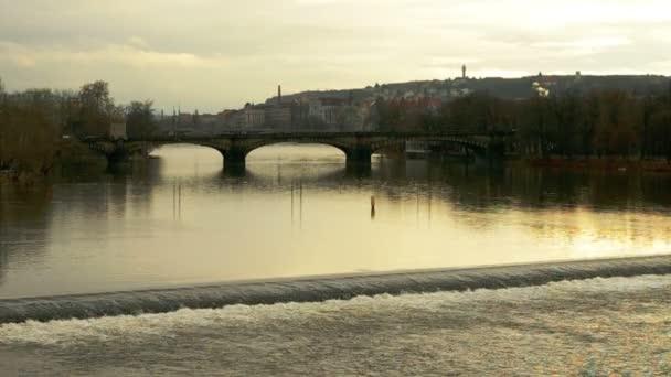 most v zimě večer v Praze, Česká republika