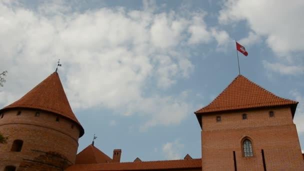 Lithuanian historical medieval kings castle Trakai