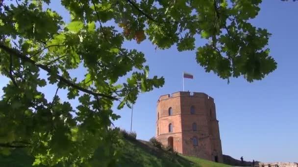 Vilnius középkori Gediminas kastélytorony jelképe