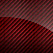 Fotografia sfondo rosso lucido in fibra di carbonio o texture