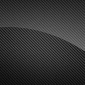 Fotografia sfondo nero lucido in fibra di carbonio o texture